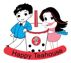 happy-tea-house Logo